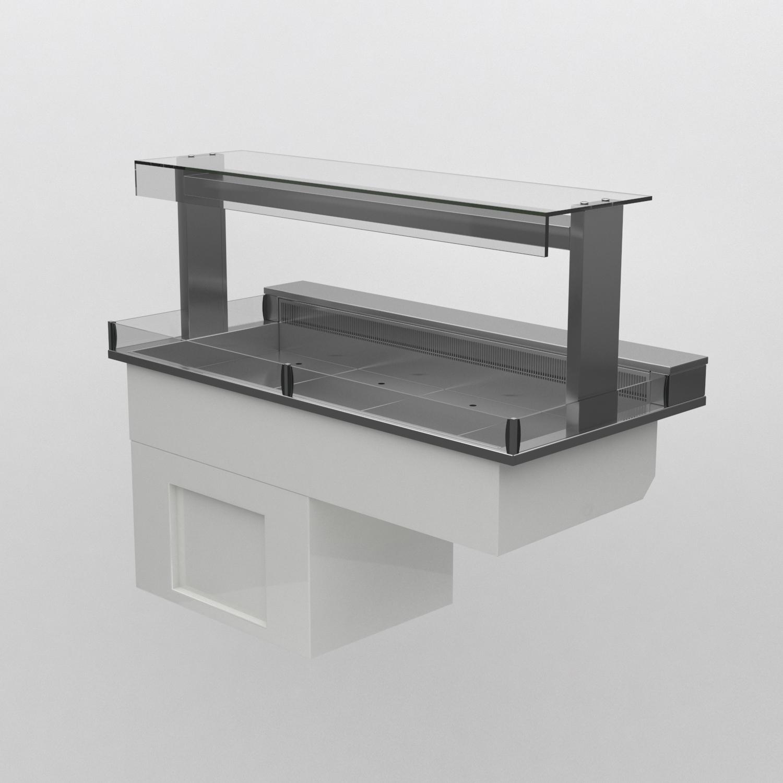 manhattan - MCDK4-GO - Chilled Display Deck